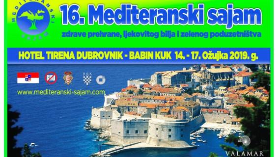 ŽK Dubrovnik poziva na 16. Mediteranski sajam zdrave prehrane, ljekovitog bilja i zelenog poduzetništva