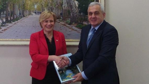 Potpredsjednica HGK Mirjana Čagalj susrela se s gradonačelnikom Mostara Ljubom Bešlićem