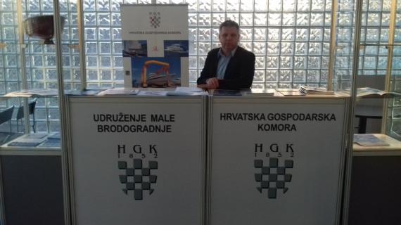 Članice Udruženja male brodogradnje HGK predstavile se na zagrebačkom sajmu Nautika 2017