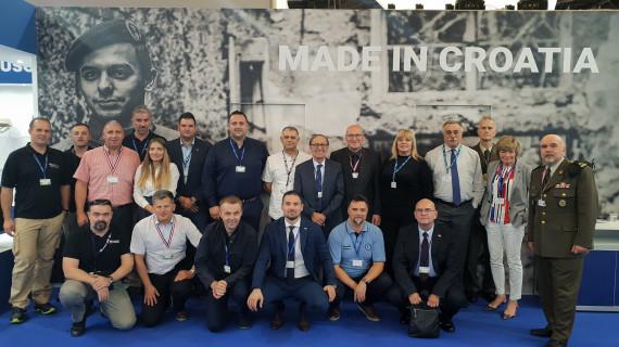Hrvatske tvrtke izlagale na sajmu Eurosatory u Parizu