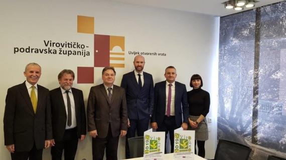 Izaslanstvo Njemačko-hrvatske industrijske i trgovinske komore posjetilo Virovitičko-podravsku županiju