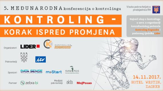 Ne propustite 5. međunarodnu konferenciju o kontrolingu u Zagrebu!