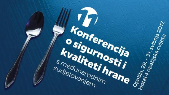 XI. konferencija o sigurnosti i kvaliteti hrane