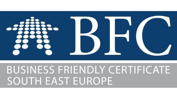 Poziv na certificiranje gradova i općina s povoljnim poslovnim okruženjem u jugoistočnoj Europi - BFC SEE