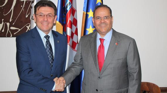 Predsjednik HGK Burilović primio veleposlanika Kraljevine Bahrein