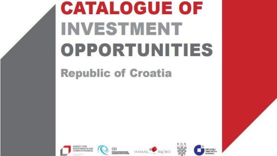Dvanaesto izdanje Kataloga investicijskih mogućnosti Agencije za investicije i konkurentnost.