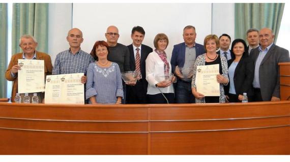 Svečano proglašenje rezultata ocjenjivanja meda u ŽK Osijek