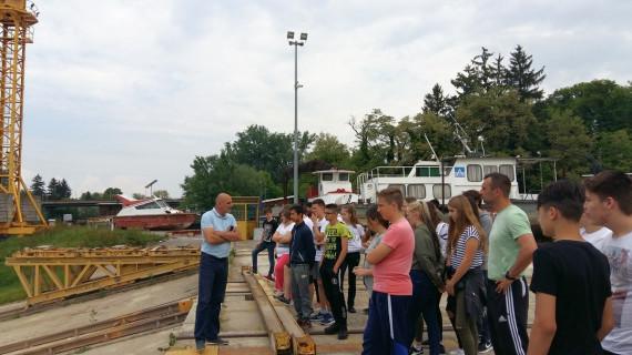 Sisački osnovnoškolci u posjetu tvrtkama Brodocentar, Applied Ceramics i Alas-Info u okviru Dana otvorenih vrata metaloprerađivača SMŽ-a