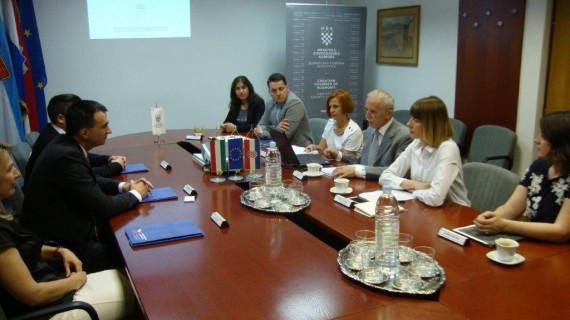 ŽK Virovitica: Posjeta izaslanstva Ureda za ekonomske odnose Veleposlanstva Mađarske u RH