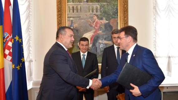 Potpisan Sporazum o suradnji Trgovinske i industrijske komore Rumunjske  i Hrvatske gospodarske komore