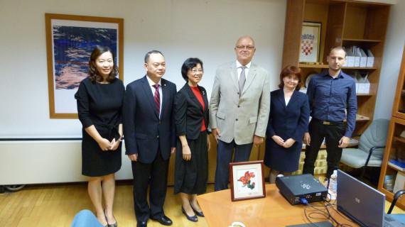 Komoru Zagreb posjetilo izaslanstvo Međunarodne trgovačke komore Guangdonga