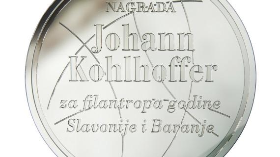 Objavljen natječaj za godišnju Nagradu Johann Kohlhoffer za filantropa godine Slavonije i Baranje za 2017. godinu