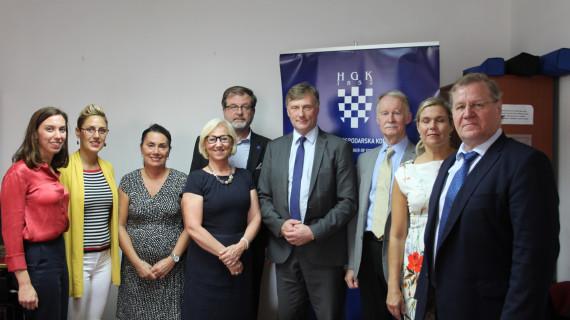 Finska delegacija u posjetu ŽK Dubrovnik