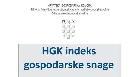 HGK Indeks gospodarske snage