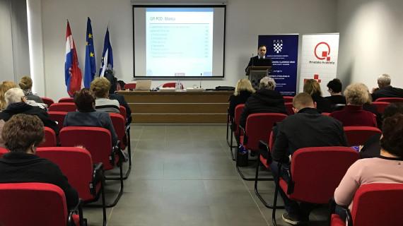 Seminar Sastavljanje godišnjih financijskih izvještaja i poreznih prijava u 2018. održan u ŽK Slavonski Brod