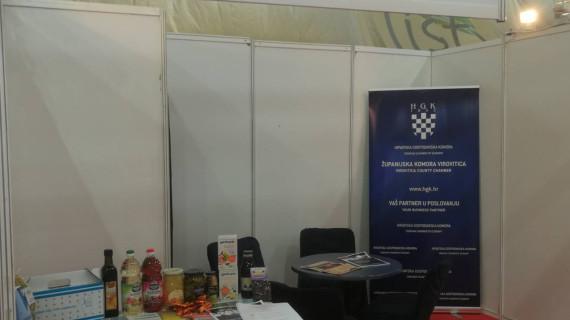 Na 16. međunarodnom sajmu turizma i ekologije List u Lukavcu, u BiH, predstavljena turistička ponuda i specifični proizvodi Virovitičko-podravske županije
