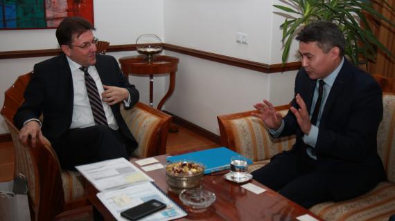 Predsjednik HGK u nastupni posjet primio veleposlanika Kazahstana