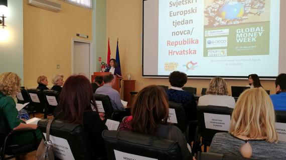Održana prezentacija povodom obilježavanja Svjetskog i europskog tjedna novca u Hrvatskoj
