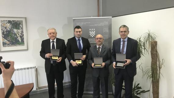 ŽK Slavonski Brod dodijelila priznanja i plakete Zlatna kuna za uspješnost u poslovanju