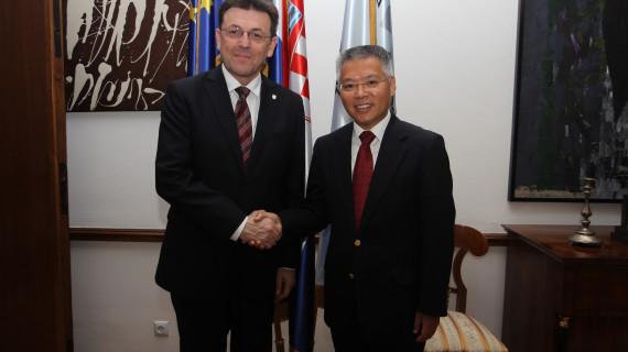 Posjet veleposlanika NR Kine Hrvatskoj gospodarskoj komori