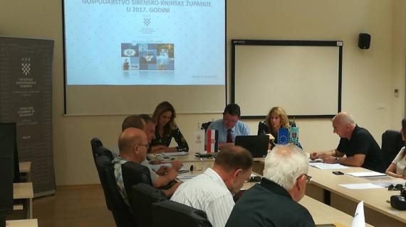 Održana četranesta sjednica Gospodarskog vijeća ŽK Šibenik