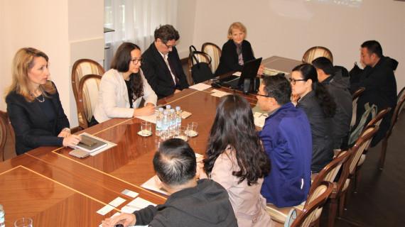 Predstavnici tvrtke Shanghai Shendi (Group) Co., Ltd. iz NR Kine u posjetu HGK