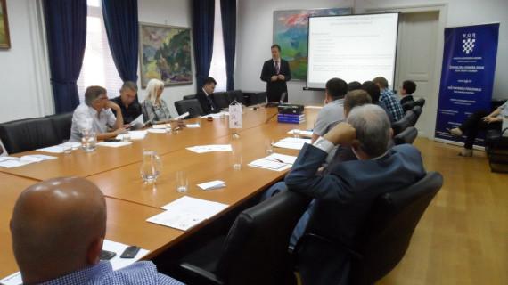 U ŽK Sisak održana radionica Internacionalizacija poslovanja MSP i Certifikacijom proizvoda do tržišta