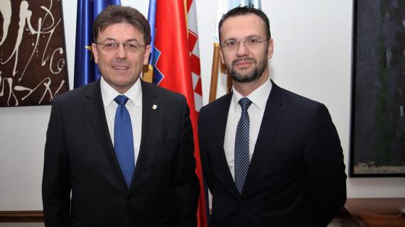 Predsjednik HGK primio u nastupni posjet veleposlanika Kosova