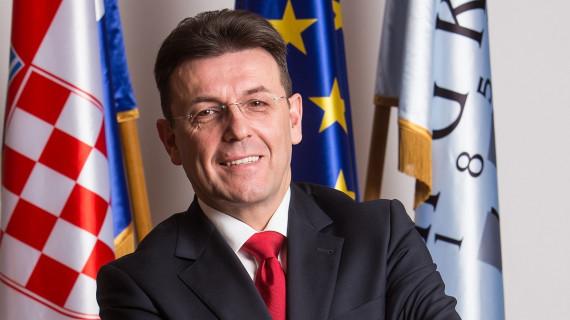 Predsjednik HGK Luka Burilović primio u nastupni posjet veleposlanika Francuske u Zagrebu Meuniera