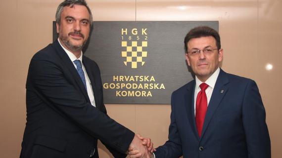 Predsjednik HGK Burilović: Hrvatsku i Srbiju vežu složeni, ali neraskidivi odnosi