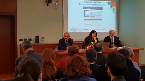 Ministrica Žalac na predstavljanju novoga Kataloga projekata Karlovačke županije u ŽK Karlovac