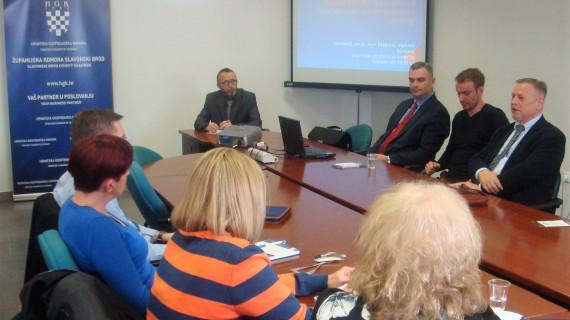 U ŽK Slavonski Brod održan seminar Primjena Zakona o osiguranju potraživanja radnika u slučaju stečaja poslodavca