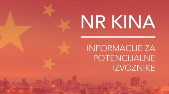 NR Kina – informacije za potencijalne izvoznike