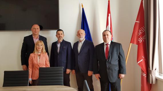 Radni sastanak predstavnika Sveučilišta Sjever i Hrvatske gospodarske komore u Varaždinu