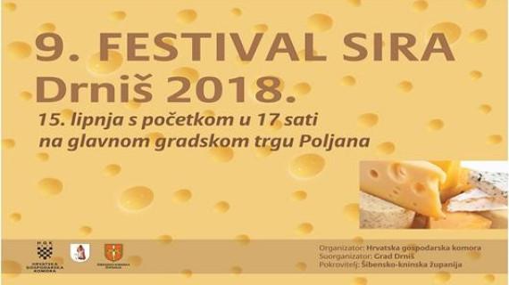 9. Festival sira u Drnišu