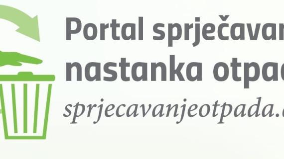 Hrvatska agencija za okoliš i prirodu pokrenula Portal za sprječavanje nastanka otpada