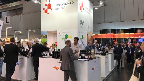 Hrvatske vinarije na najvećem svjetskom sajmu vina Prowein u Düsseldorfu