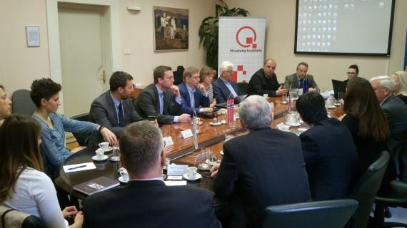 Norveška delegacija posjetila Županijsku komoru Rijeka