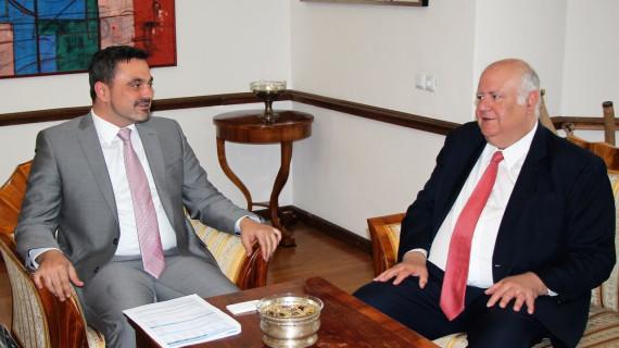 Potpredsjednik HGK Barbarić s brazilskim veleposlanikom razgovarao o unapređenju gospodarske suradnje
