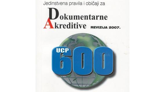 Jedinstvena pravila i običaji za dokumentarne akreditive - UCP600
