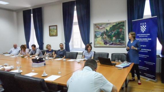 ŽK Sisak: Održana radionica za potencijalne korisnike Podmjere 4.1 i 4.2 Programa ruralnog razvoja RH 2014.-2020.