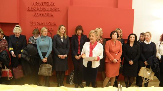 ŽK Pula: Održano predblagdansko druženje poslovnih žena