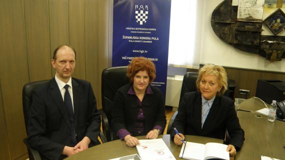 Održan radni sastanak predstavnika ŽK Pula i Općine Raša
