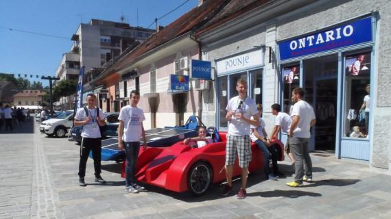 U Sisku održana peta utrka solarnih automobila - SOELA
