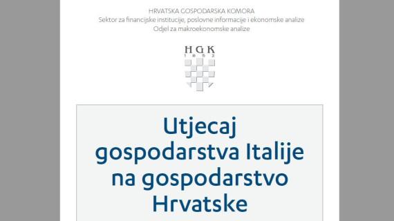 Analiza aktualne teme - Utjecaj gospodarstva Italije na gospodarstvo Hrvatske