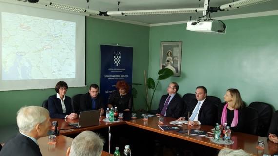 Veleposlanica Slovenije zadovoljna posjetom Županijskoj komori Karlovac