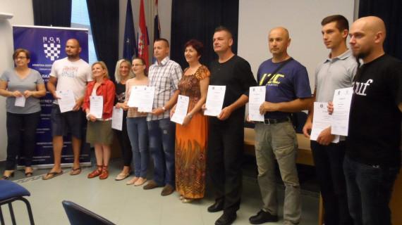Dodjeljena priznanja za vodiče u pustolovnom turizmu Sisačko-moslavačke županije