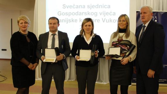 Dodijeljena priznanja najuspješnijim tvrtkama Vukovarsko-srijemske županije
