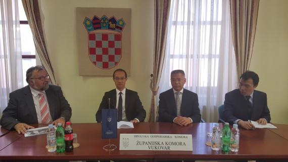 U ŽK Vukovar održan sastanak predstavnika tvrtki Vukovarsko-srijemske županije sa kineskim ambasadorom
