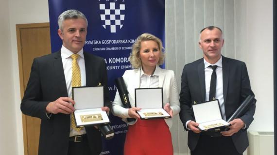 ŽK Požega: Zlatnu kunu za najbolje tvrtke dobili Kutjevo, Straga Trans i Herz